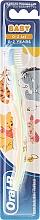 Düfte, Parfümerie und Kosmetik Kinderzahnbürste 0-2 Jahre extra weich Tiger grün-orange - Oral-B Baby