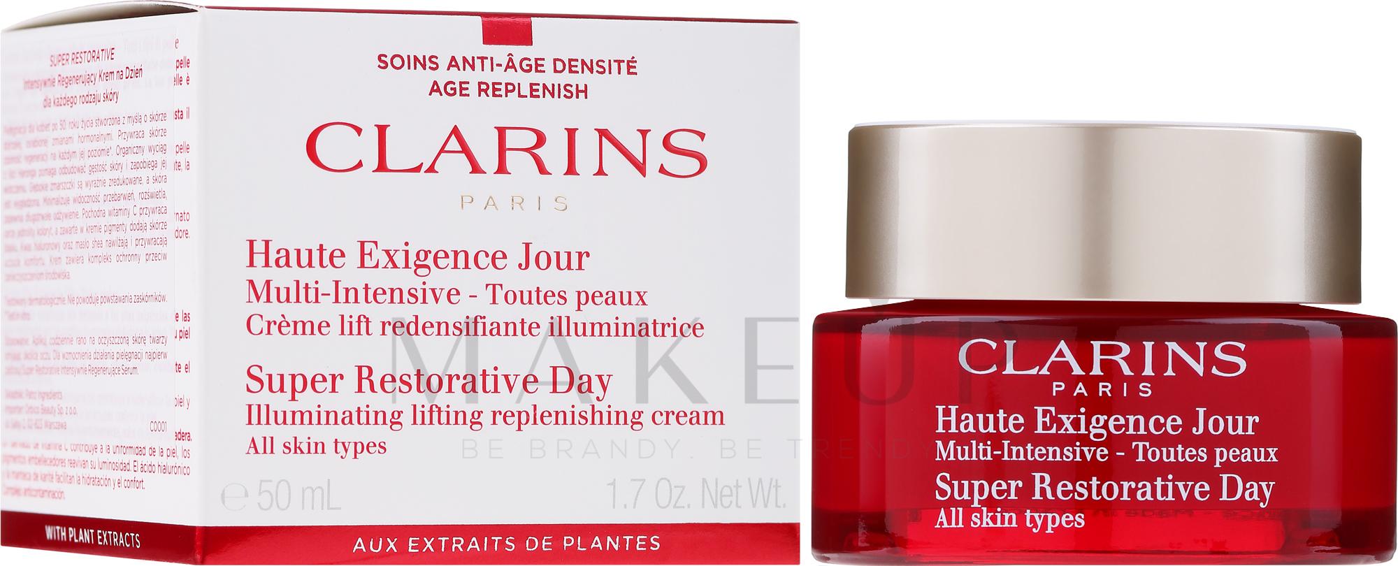 Regenerierende Tagescreme für jeden Hauttyp - Clarins Super Restorative Day Cream — Bild 50 ml