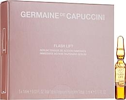 Düfte, Parfümerie und Kosmetik Straffendes Gesichtsserum mit dreidimensionalen Biopolymeren aus Süßmandeln - Germaine de Capuccini Flash Lift