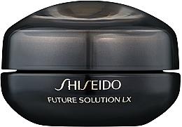 Düfte, Parfümerie und Kosmetik Anti-Aging Augen- und Lippencreme - Shiseido Future Solution Eye and Lip Contour Cream