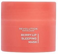 Düfte, Parfümerie und Kosmetik Feuchtigkeitsspendende Overnight-Lippenmaske mit Beeren  - Revolution Skincare Berry Lip Sleeping Mask