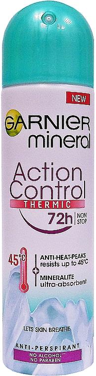 Deospray Antitranspirant - Garnier Mineral Deodorant 72h