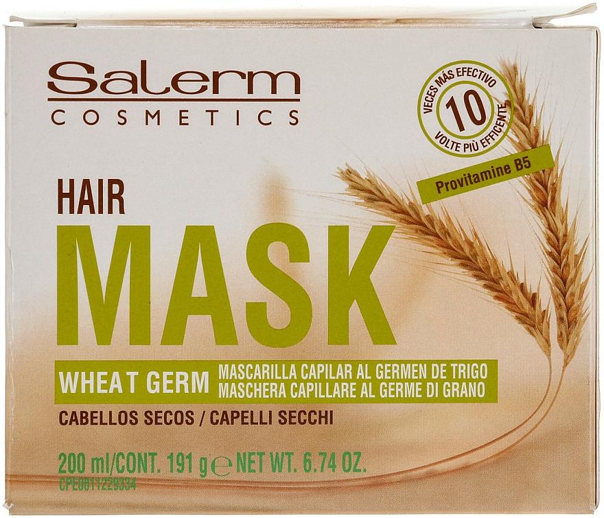 Pflegende Haarmaske mit Weizenkeimöl - Salerm Mascarilla Capilar
