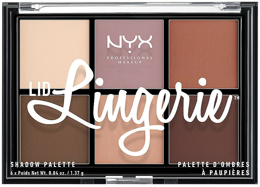 Lidschattenpalette - NYX Professional Makeup Lingerie Shadow Palette