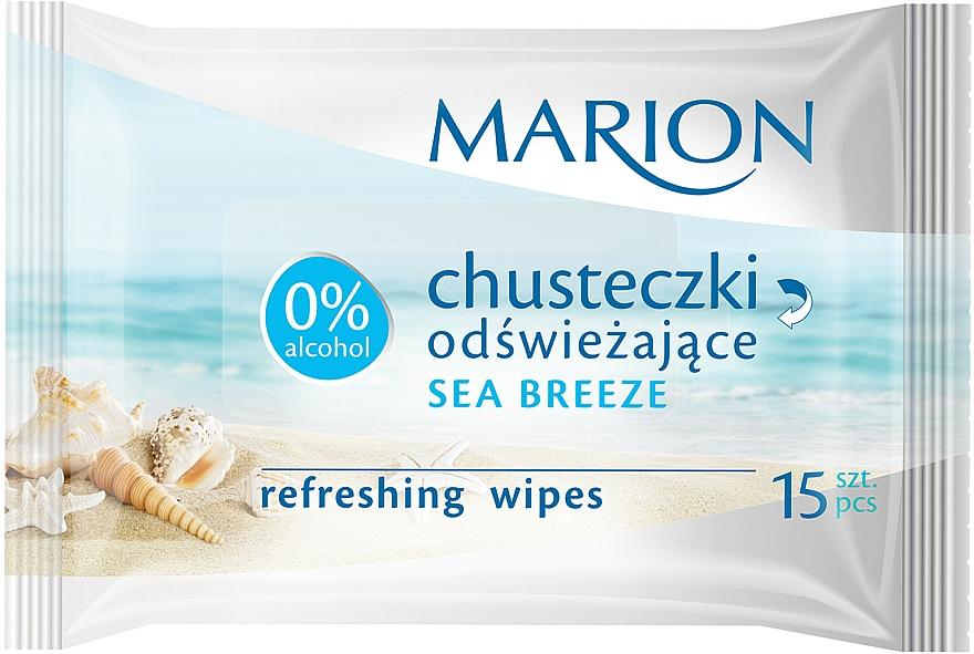 Erfrischende Feuchttücher Meeresbrise 15 St. - Marion