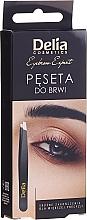 Düfte, Parfümerie und Kosmetik Pinzette schräg - Delia Cosmetics Eyebrow Expert