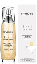 Düfte, Parfümerie und Kosmetik Gesichtsreinigungsgel mit weißer Pfingstrose - Symbiosis London Enlightening & Exfoliating Cleansing Gel