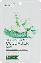 Düfte, Parfümerie und Kosmetik Tuchmaske für das Gesicht mit Gurke - Eunyul Natural Moisture Mask Pack