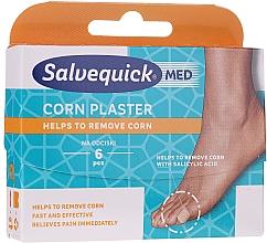 Düfte, Parfümerie und Kosmetik Kalluspflaster mit Salicylsäure - Salvequick Foot Care