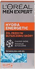 Düfte, Parfümerie und Kosmetik Feuchtigkeitsspendendes Gesichtsgel mit Kühleffekt - L'Oreal Paris Men Expert Hydra Energetic