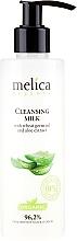 Düfte, Parfümerie und Kosmetik Reinigungsmilch mit Weizenkeimöl und Aloeextrakt - Melica Organic Cleansing Milk
