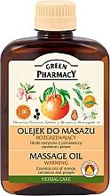 Düfte, Parfümerie und Kosmetik Wärmendes Massageöl - Green Pharmacy Massage oil