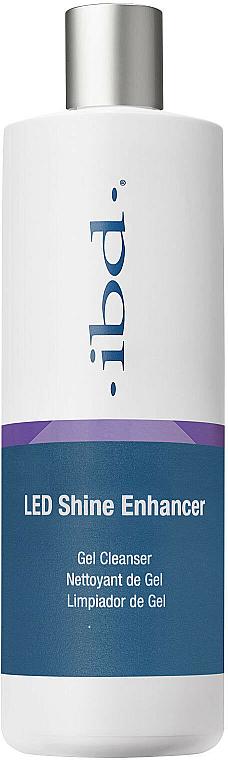 2in1 Gel-Reiniger und Nagelentfeuchter mit Glanz-Effekt - IBD LED Shine Enhancer Gel Cleanser