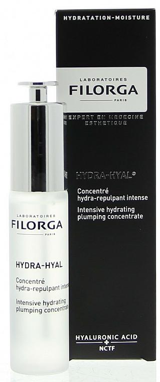 Intensiv feuchtigkeitsspendendes Gesichtskonzentrat mit Hyaluronsäure - Filorga Hydra-hyal Intensive Hydrating Plumping Concentrate