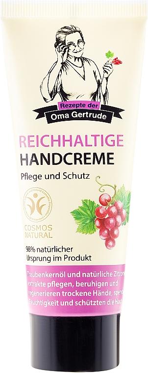 Pflegende Handcreme - Rezepte der Oma Gertrude