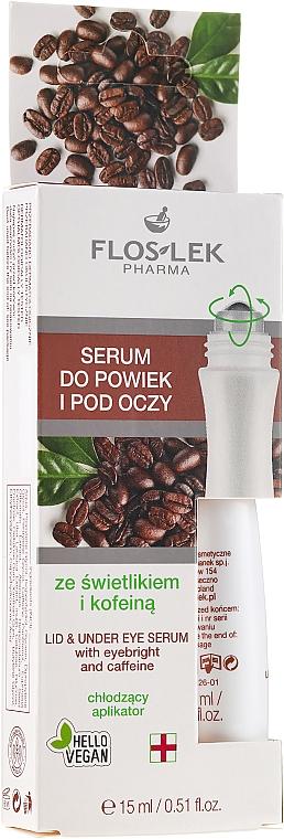 Augenserum mit Augentrost und Koffein - Floslek Eye Care Serum