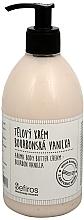 Düfte, Parfümerie und Kosmetik Körpercreme mit Vanilleduft - Sefiros Aroma Body Butter Cream Bourbon Vanilla
