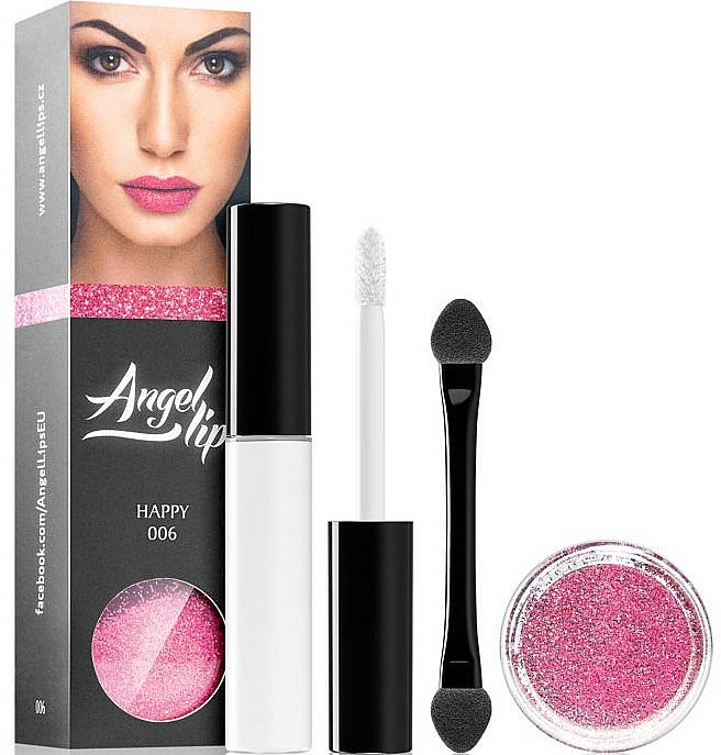 Make-up Set (Make-up Base 4ml + Lipgloss 3g) - Di Angelo Angel Lips