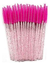 Düfte, Parfümerie und Kosmetik Wimpernbürste aus Silikon rosa-rot - Novalia Group