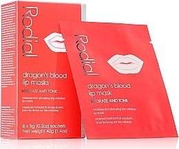 Düfte, Parfümerie und Kosmetik Feuchtigkeitsspendende Lippenmaske  - Rodial Dragon's Blood Lip Masks