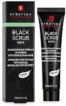 Düfte, Parfümerie und Kosmetik Peelingmaske für Gesicht mit Aktivkohle - Erborian Black Scrub Mask