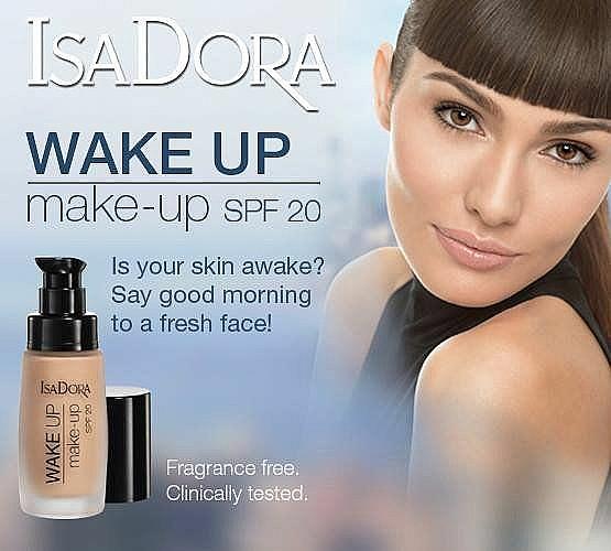 Foundation mit Anti-Müdigkeits-Effekt - IsaDora Wake Up Make-Up Foundation SPF 20 — Bild N2