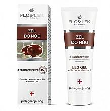Düfte, Parfümerie und Kosmetik Fußgel mit Kastanienextrakt - Floslek Foot Gel