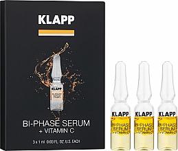 Düfte, Parfümerie und Kosmetik Zweiphasiges Gesichtsserum mit Vitamin C - Klapp Bi-Phase Serum Vitamin C