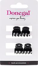 Düfte, Parfümerie und Kosmetik Haarspangen FA-9930, mini, schwarz, 4 St. - Donegal Hair Clip