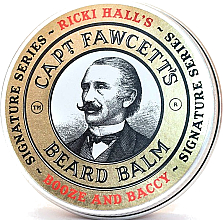 Düfte, Parfümerie und Kosmetik Bartbalsam - Captain Fawcett Ricki Hall Booze & Baccy Beard Balm
