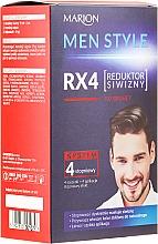 Düfte, Parfümerie und Kosmetik 4 stufige Haarfarbe für Männer - Marion Men Style 4 Steps Grey Hair Reducer