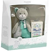 Düfte, Parfümerie und Kosmetik Mustela Musti - Duftset (Eau de Toilette 50ml + Teddybär)