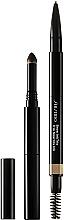 Düfte, Parfümerie und Kosmetik Augenbrauenstift mit Bürste - Shiseido Brow Ink Trio Pencil