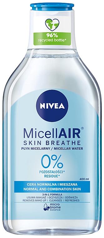 Erfrischendes Mizellenwasser 3in1 für normale und Mischhaut - Nivea Micellar Refreshing Water