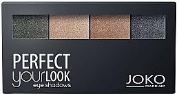 Düfte, Parfümerie und Kosmetik Lidschatten-Quartett - Joko Perfect Your Look Quattro Eye Shadows New