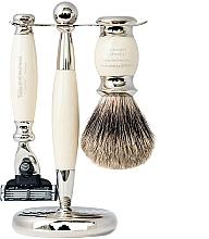 Düfte, Parfümerie und Kosmetik Rasierset - Taylor of Old Bond Street Mach3 (Rasierer 1 St. + Rasierpinsel 1 St. + Ständer 1 St.)