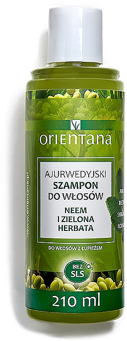 "Anti-Schuppen Shampoo ""Repair & Care"" - Orientana Ayurvedic Shampoo Neem & Green Tea"