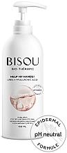 Düfte, Parfümerie und Kosmetik Feuchtigkeitsspendender und schützender Handbalsam für trockene und geschädigte Haut - Bisou Bio-Therape Help My Hands