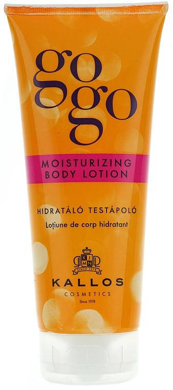 Feuchtigkeitsspendende Körperlotion - Kallos Cosmetics Gogo Moisturizing Body Lotion