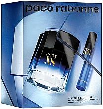 Düfte, Parfümerie und Kosmetik Paco Rabanne Pure XS - Duftset (Eau de Toilette 100ml + Eau de Toilette (mini) 20ml)