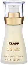 Düfte, Parfümerie und Kosmetik Glättendes Anti-Aging Gesichtsserum mit Acai-Öl - Klapp Kiwicha Line Smoother Serum