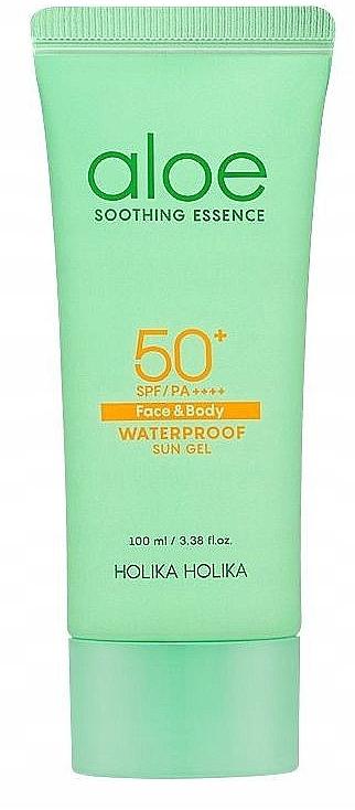 Sonnenschutzgel mit Aloe SPF 50+ - Holika Holika Aloe Waterproof Sun Gel