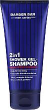 Düfte, Parfümerie und Kosmetik 2in1 Duschgel und Shampoo für Männer mit Eukalyptus - Barber.Bar Men Series 2in1 Shower Gel-Shampoo