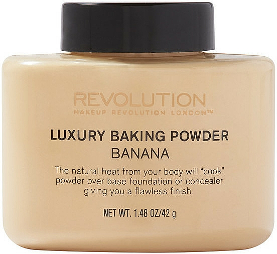 Gebackener loser Bananenpuder - Makeup Revolution Luxury Baking Powder Banana
