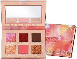 Düfte, Parfümerie und Kosmetik Lidschatten-Palette - Nabla Cutie Collection Palette Coral