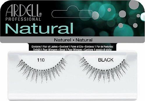 Künstliche Wimpern - Ardell Natural Eye Lashes Black 110