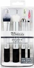 Düfte, Parfümerie und Kosmetik Make-up Pinselset - Real Techniques by Sam and Nic Prep + Prime Set