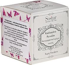 Düfte, Parfümerie und Kosmetik Anti-Falten Nachtcreme mit Kollagen und Retinol - Sostar Collagen Retinol Anti-Wrinkle Night Cream