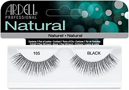 Düfte, Parfümerie und Kosmetik Künstliche Wimpern - Ardell Natural Lashes Black 105