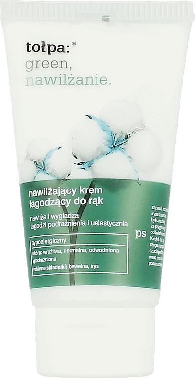 Feuchtigkeitsspendende und beruhigende Handcreme - Tolpa Green Hydration Moisturizing Soothing Hand Cream